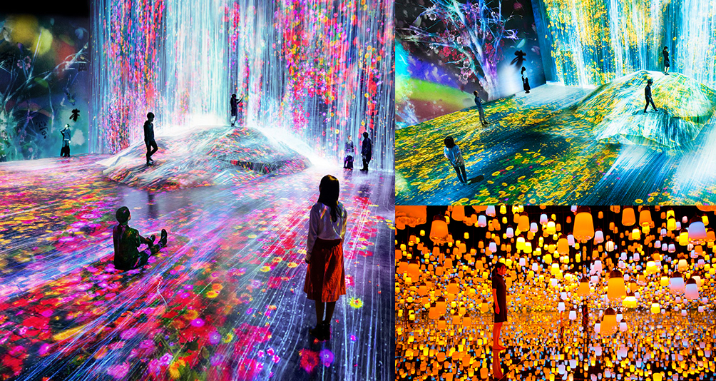 Immerse Yourself In The World's First Digital Art Museum With Over 400 Tech Arts In Tokyo, Japan!