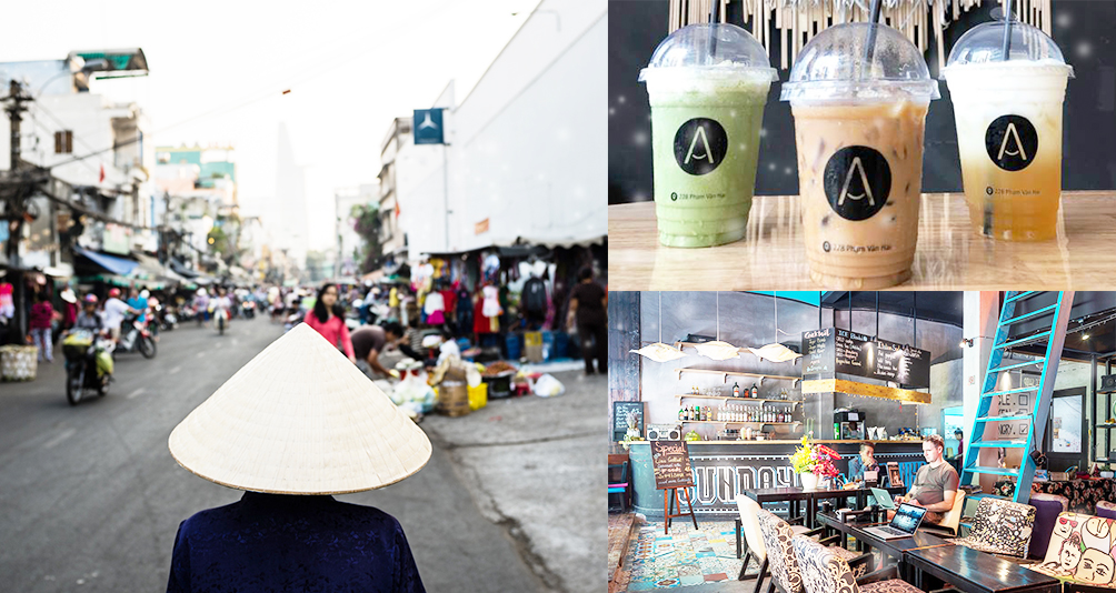4 Cool Cafes Spotted In Ho Chi Minh City, Vietnam