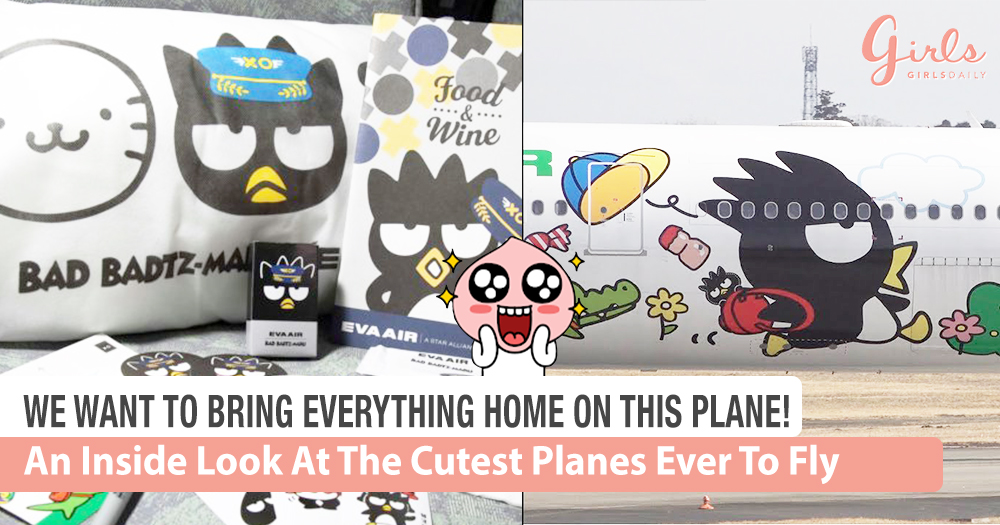 Cutest Planes In the World: The Bad Badtz-Maru and Hello Kitty Jet!