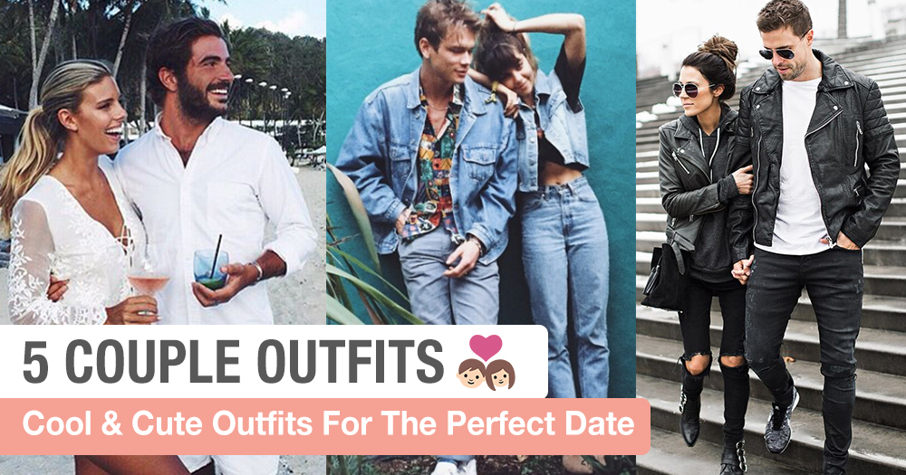 5 Cool & Cute Couple Outfits People See Liao Won't Cringe