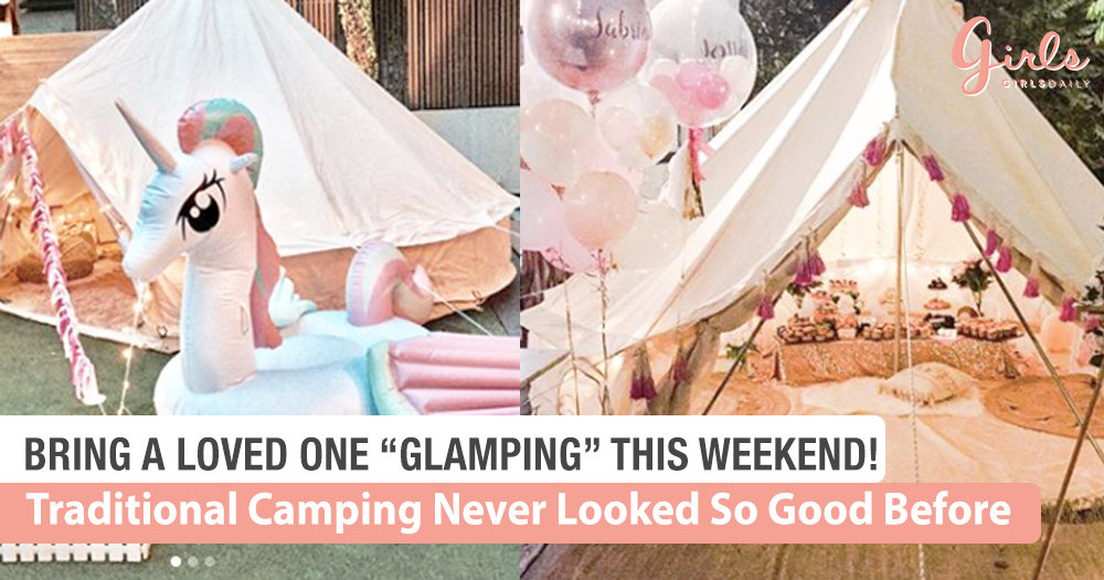 Let's Go Glamping This Weekend!