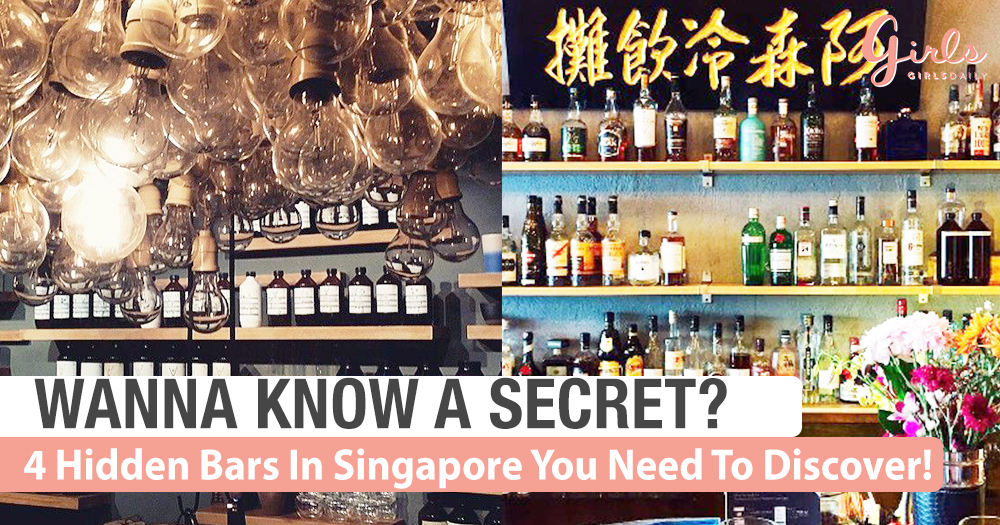 4 Secret Bars In Singapore You Need To Discover!