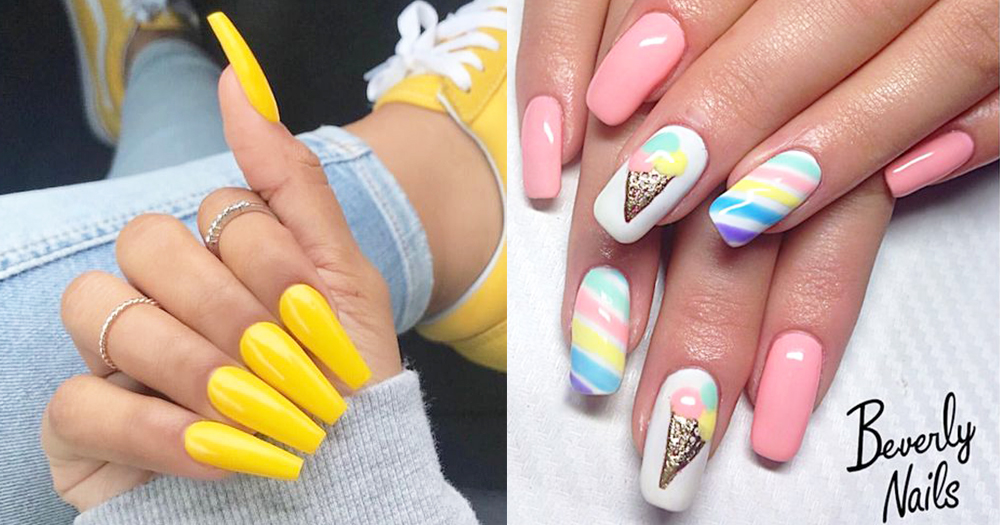 18 Must-Try Sunshine Nail Trends That Will Brighten Your Day~