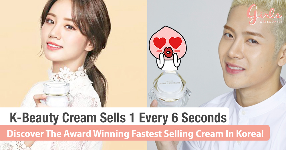 The Award-Winning, Celebrity Approved Cream From Korea That's Selling Every 6 Seconds!