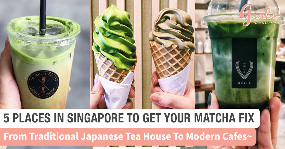 Matcha Lovers! Here's 5 Of Our Favourite Matcha-Flavoured Drinks & Treats You Must Try!