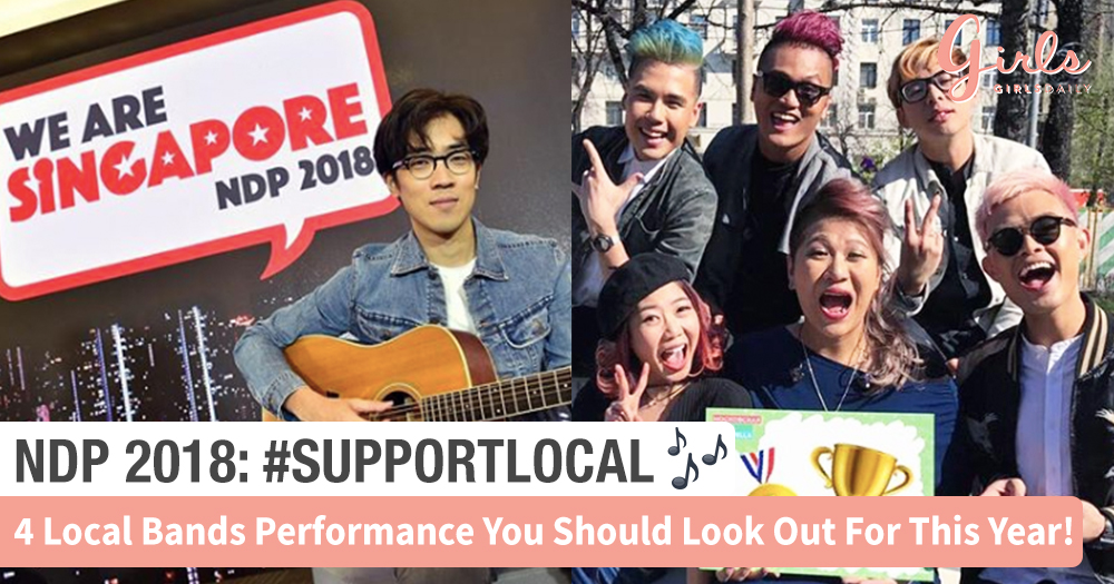 NDP 2018: Here's 4 Local Bands You Should Look Out For!