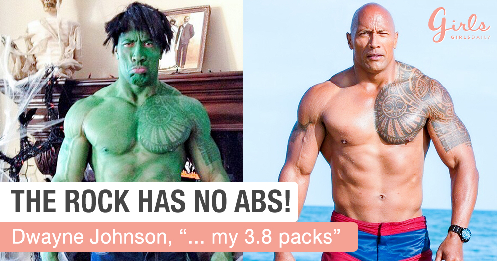 Even 'The Rock', Dwayne Johnson Does Not Have The Full Deal Of A Macho Man!