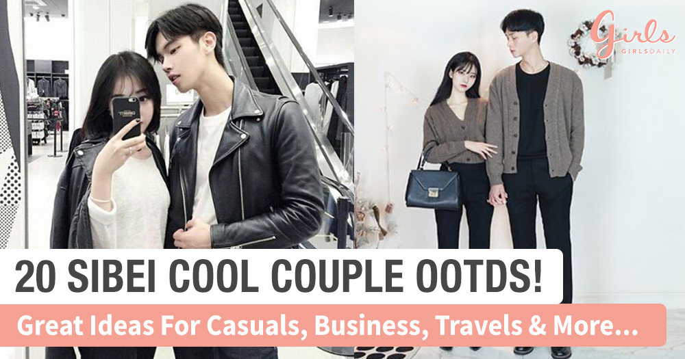 20 Defining Couple Ootds That Will Remove All Sticky Stigmas. You Don't Want To Miss~