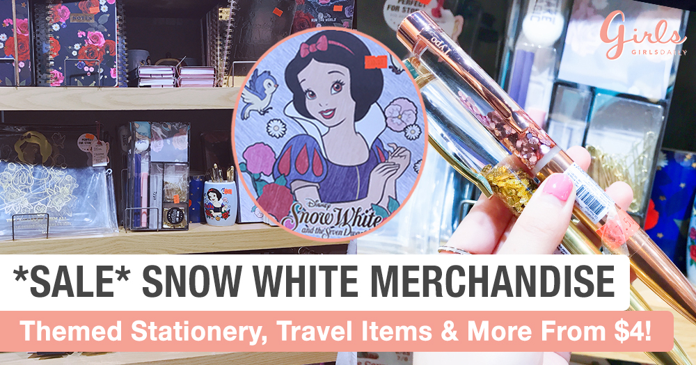 Cheapo Snow White Merchandise @ Wisma Atria Singapore!