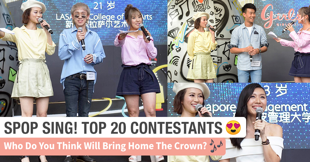 [SPOP Sing! Top 20] Here's 3 Familiar Tunes Brought To You By Our Youthful Contestants~