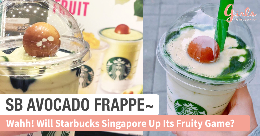 Starbucks Avocado Frappe Craze Started From Korea, So What's Next!