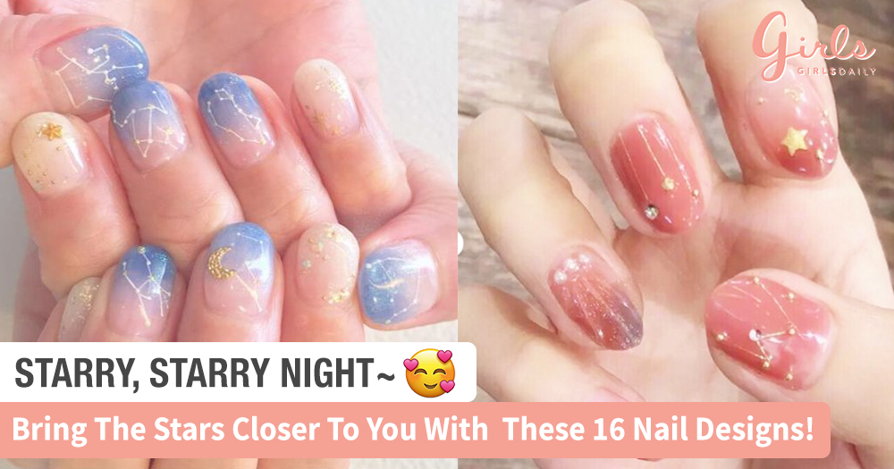 Check Out These 16 Starry Nail Designs Inspired By Our Favourite Constellations!