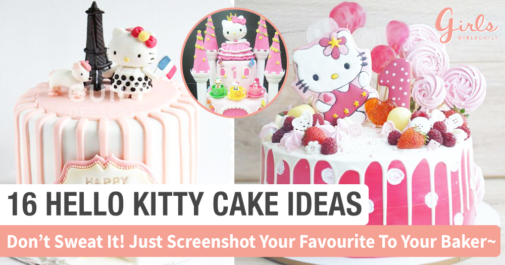 These 16 Hello Kitty Cakes Are So Pretty, I Want It For My Next Birthday~