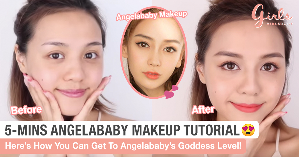 Girls, We Don't Need A Lot Of Time And Heavy Makeup To Look Like Angelababy!