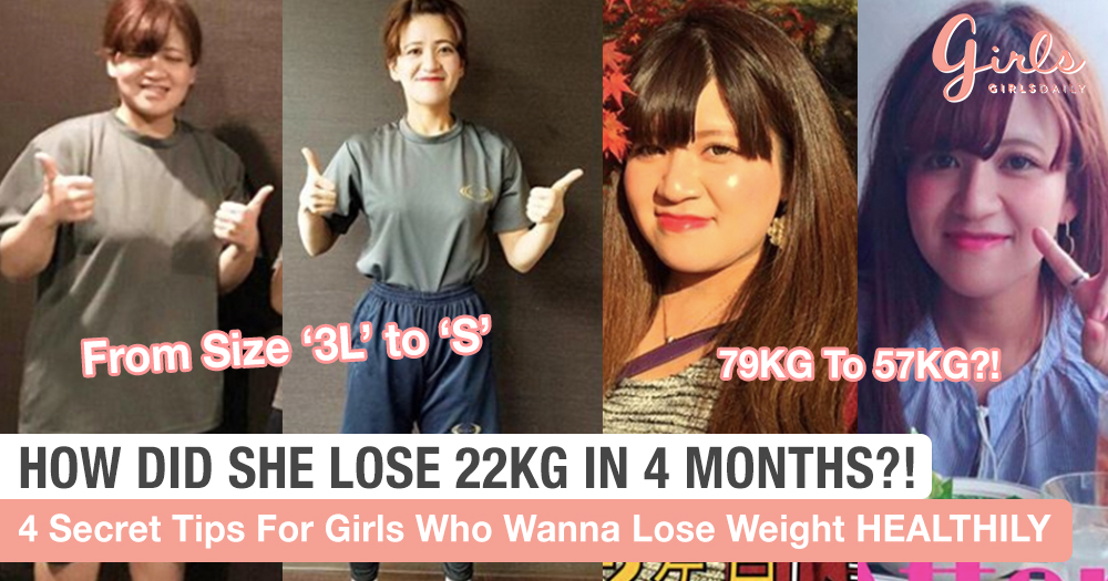 This Japanese Girl Lost 22KG In 4 Months In A Super Healthy Way And We Are So Inspired!