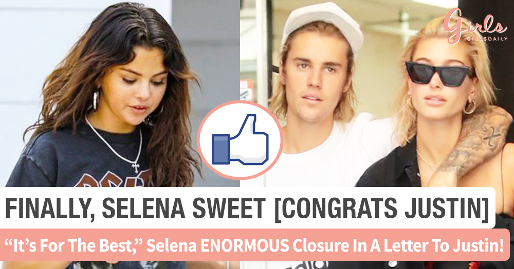 Selena Gomez Unexpected Response To Jailey Engagement Comes In A Heartfelt Letter T.T