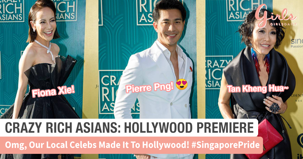 Crazy Rich Asians: Our Local Celebs Made It To Hollywood!