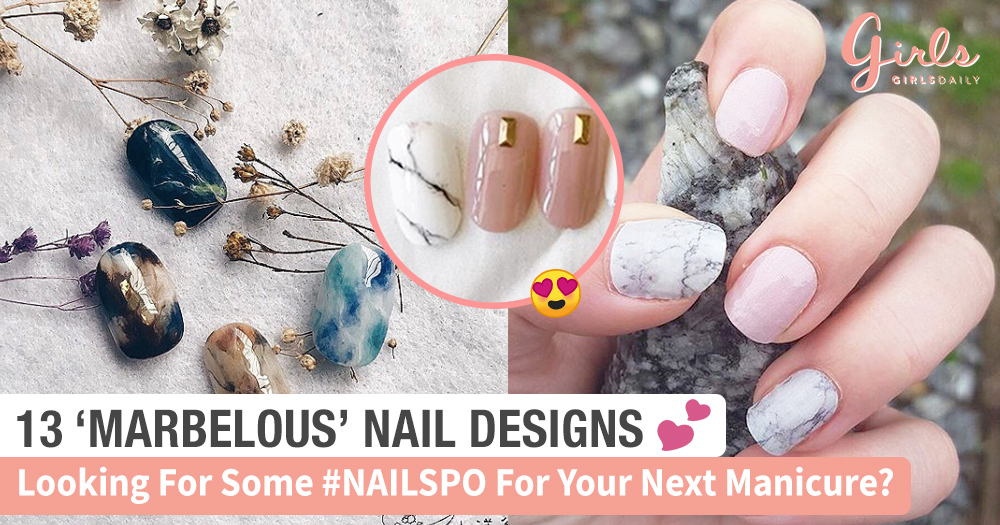 13 MARBLELOUS Nail Designs So Pretty Our Hearts Skipped A Beat