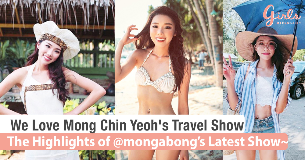 We Check Out Mong Chin Yeoh's New Travel TV Series!