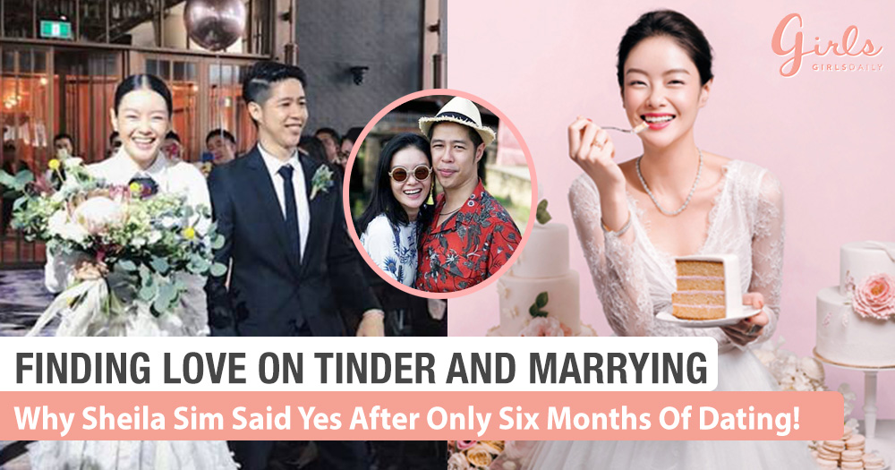 Why Sheila Sim Decided To Get Married To Her Tinder Date After 6 Months