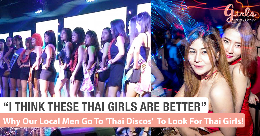 Why Our Local Men Go To 'Thai Discos' And Look For Thai Girlfriends.  We Find Out!