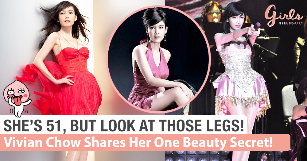 Vivian Chow Is 51 Years Old, But Look At Those Legs! #Hotdayum