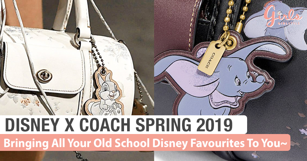 Disney X Coach Spring 2019 Makes Me Miss My Childhood~