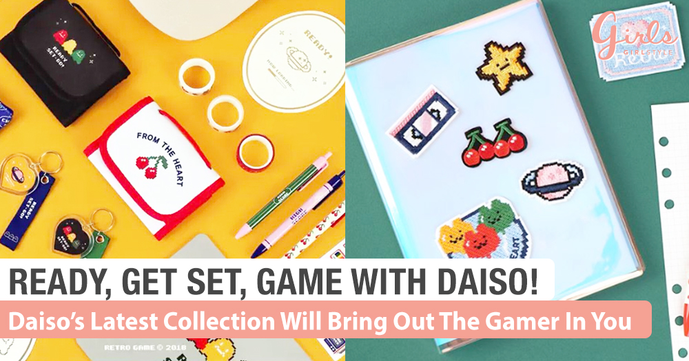 Daiso Retro Video Game Collection Brings Us Back To The 80s~