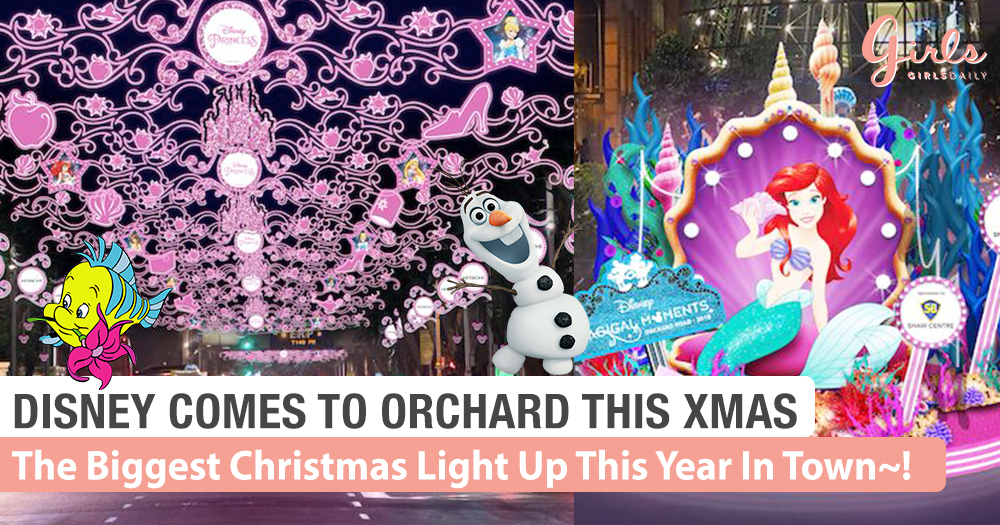 Disney Pixar Comes To Orchard This Christmas!~Woohoo!