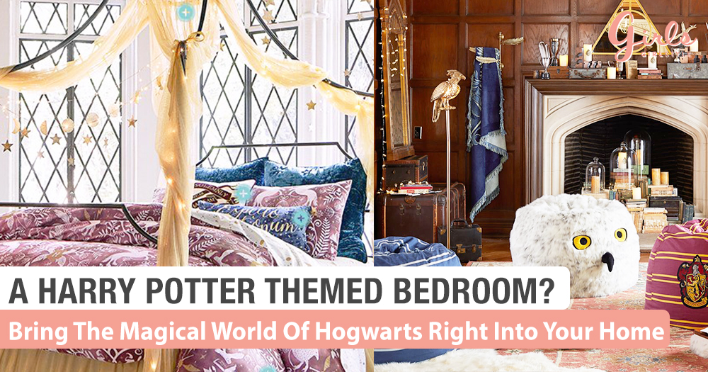 Want A Bedroom Like That? Check Out This Harry Potter Themed Home Collection!