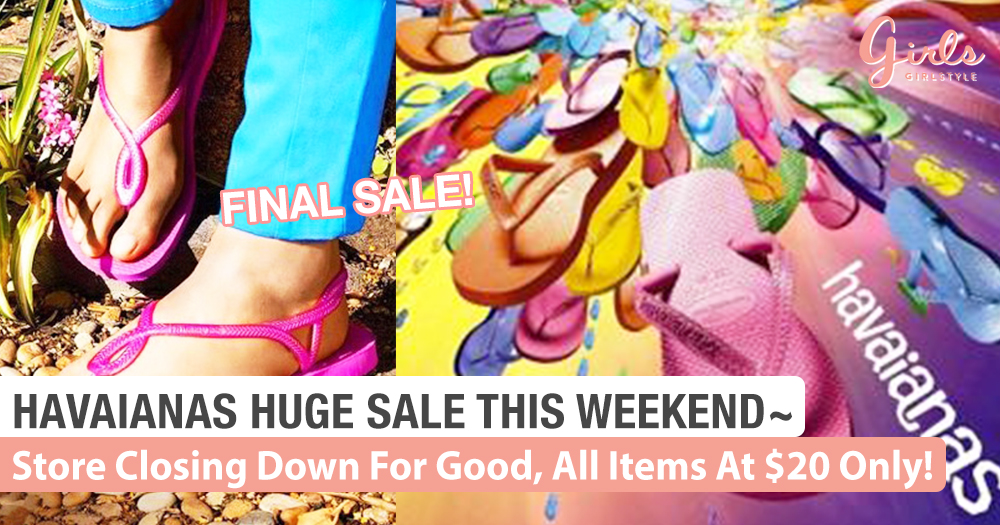 Havaianas 2 Day Sale! It's Now Or Never!