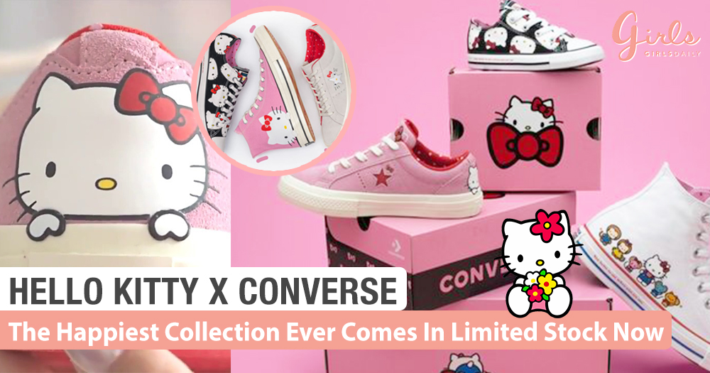 Hello Kitty X Converse: Limited Edition!