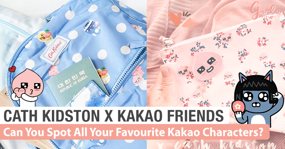 Cath Kidston X Kakao Friends: Now You Can Take Apeach Everywhere!