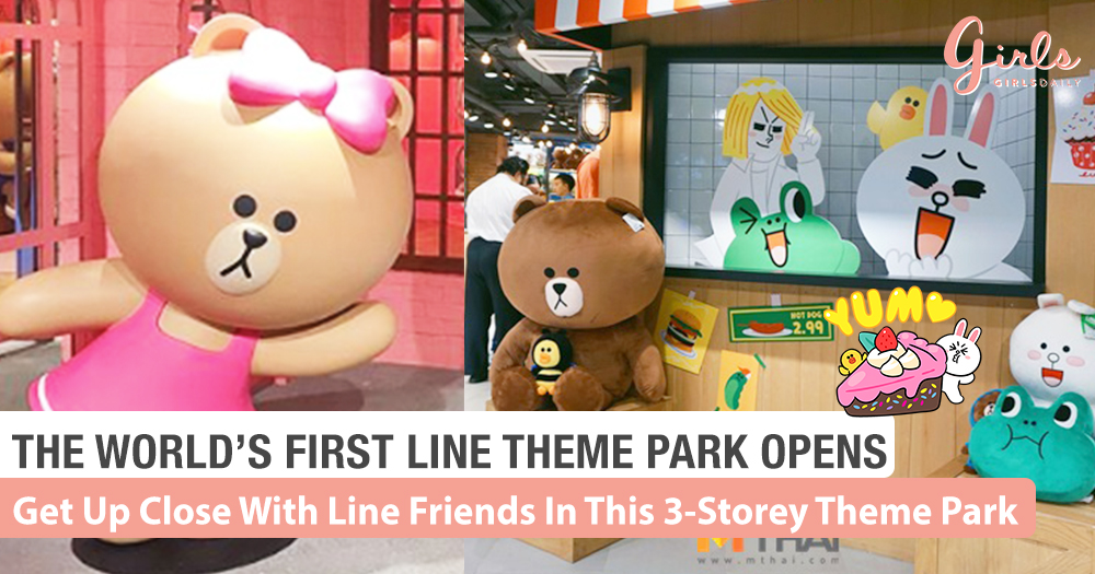 We Take A Look At The World's First Line Theme Park/Village Bangkok!