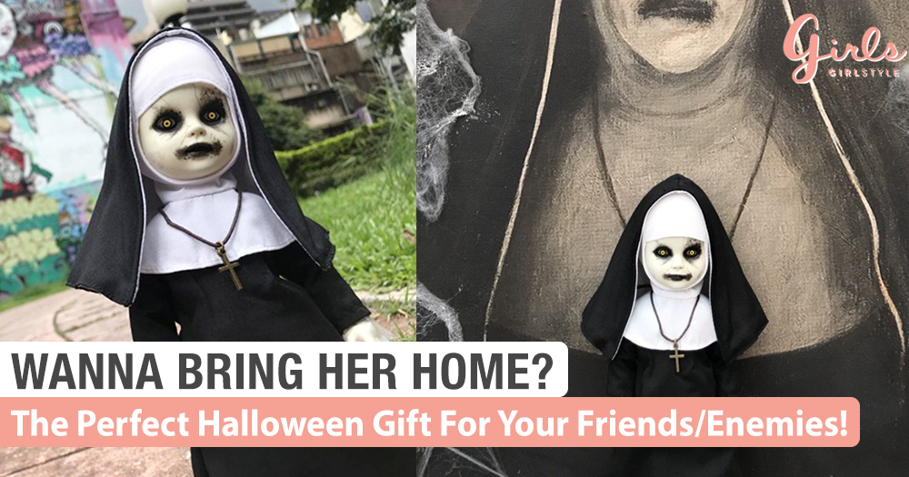 The Conjuring/Nun Living Dead Dolls Are The Perfect Halloween Gift~