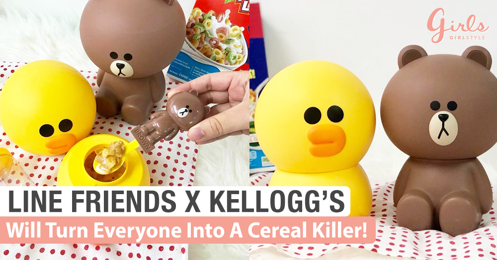 Line Friends X Kellogg's: Will Everyone Into A Cereal Killer~