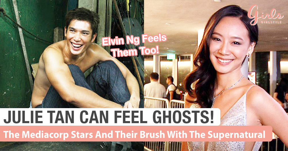 Julie Tan Has A Special Gift! She Can Feel Ghosts....And Other Mediacorp Stars' Supernatural Stories