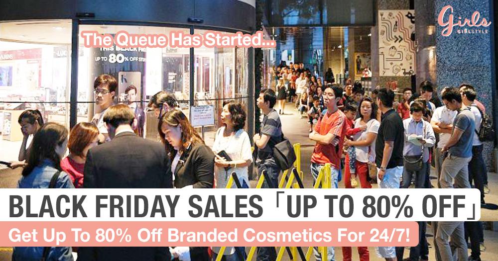 Black Friday Sale Hack: Branded Cosmetic Price Slash
