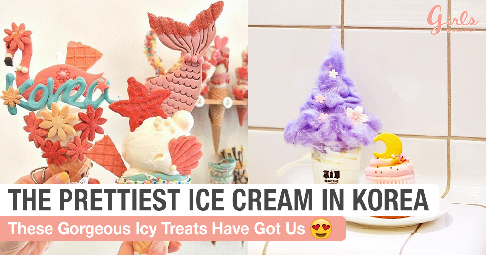 Your Guide To The Most Instagrammable Ice Cream In Korea