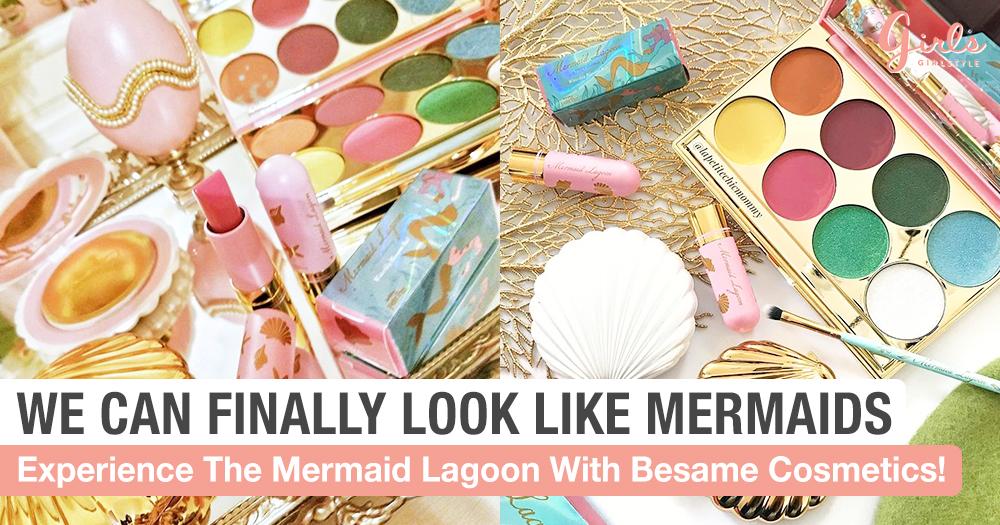 Transform Into An Elegant Mermaid With Bésame Cosmetics!