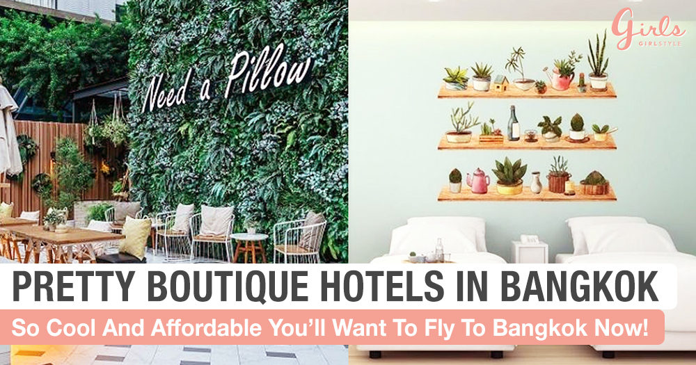 5 Pretty Hotels In Bangkok For Less Than $80 A Night!