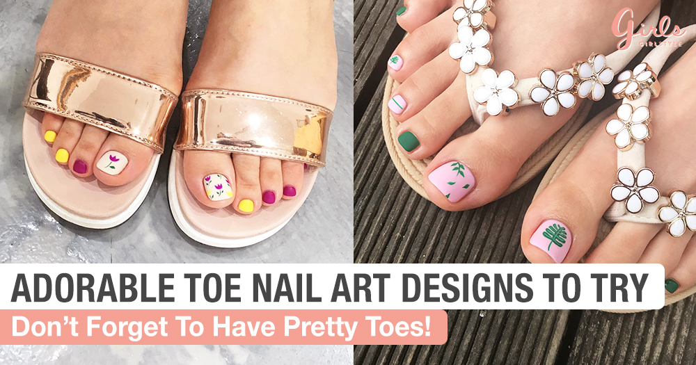 Toe Nail Designs That Will Make Having Feet More Fun