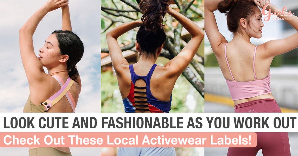 5 Singaporean Athleisure Brands That Will Make You Look Cute At The Gym
