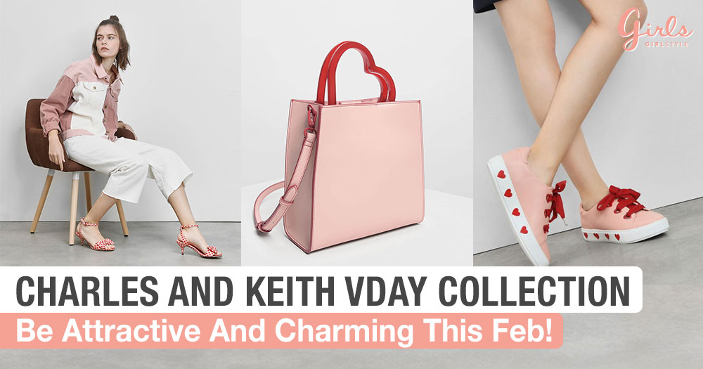 Be The Queen Of Hearts With Charles And Keith This Valentine's Day!