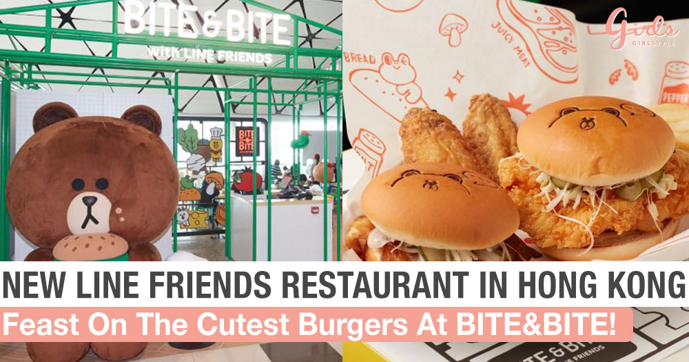 Brand New LINE FRIENDS Restaurant Has Finally Landed At Hong Kong Airport!