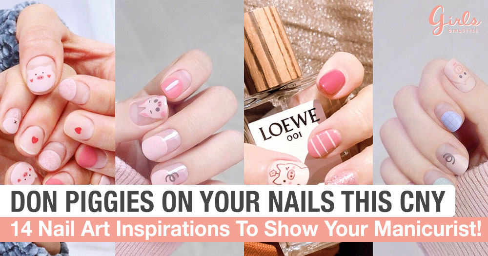 14 Adorable Piggy Nail Art Designs That Will Make You Squeal