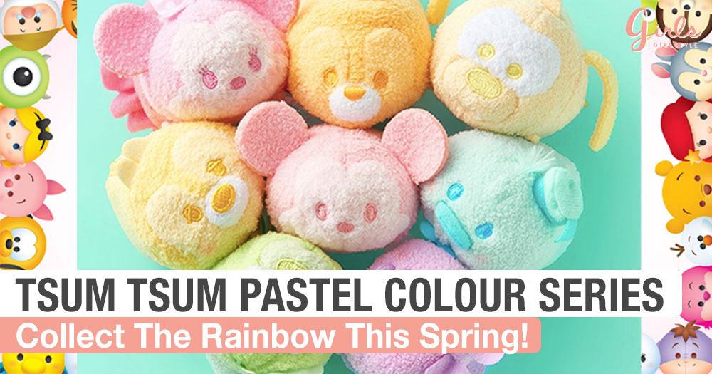 Hug The Rainbow With These Latest Colourful Tsum Tsum Collection