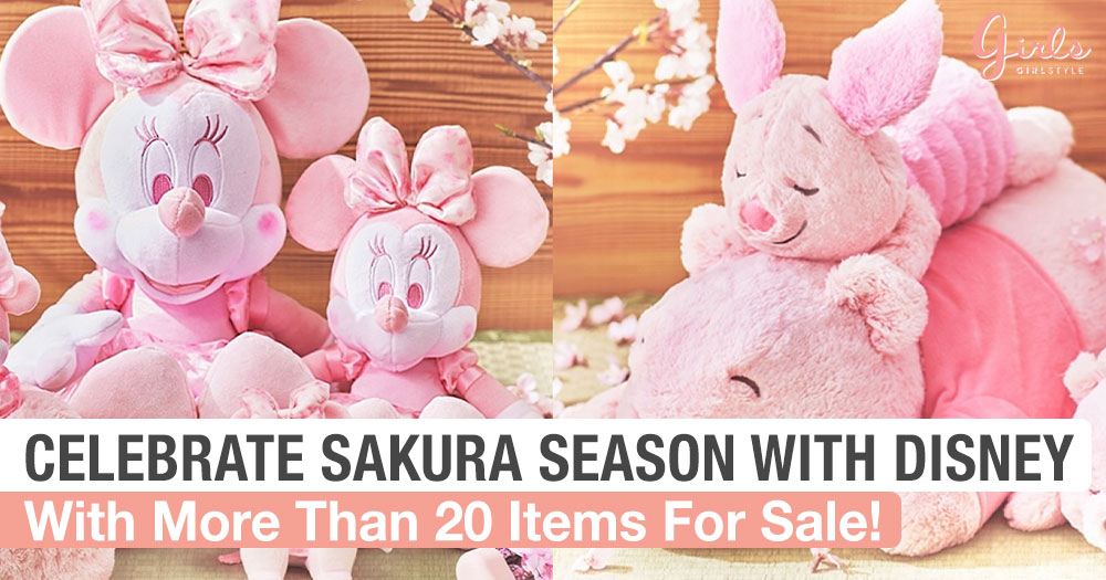 This Cherry Blossom Collection Is What Disney Dreams Are Made Of