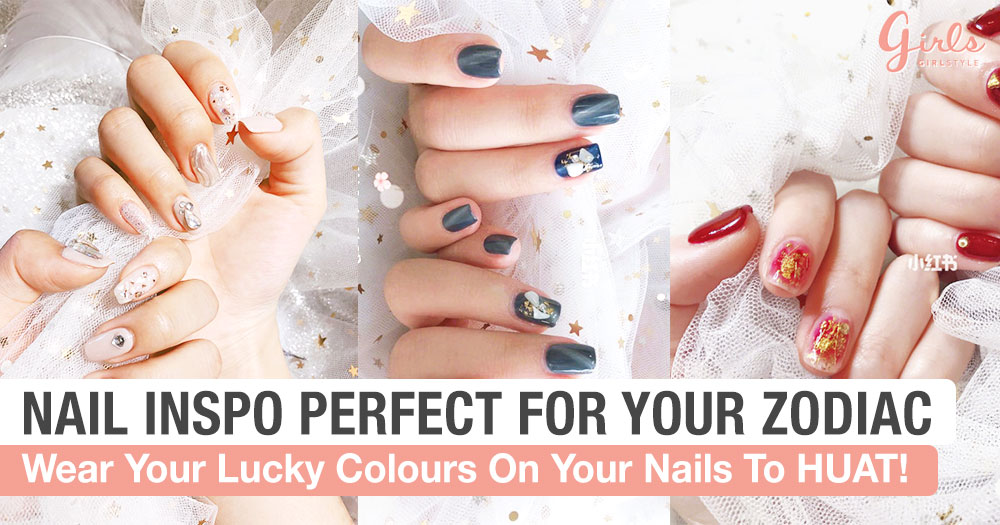 36 Nail Art Designs To Sport This CNY, According To Your Zodiac