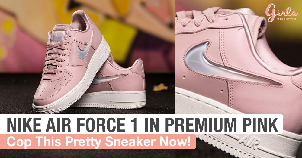 Nike Revamps Its Air Force 1 Sneakers And It's In A Pretty Shade Of Pink
